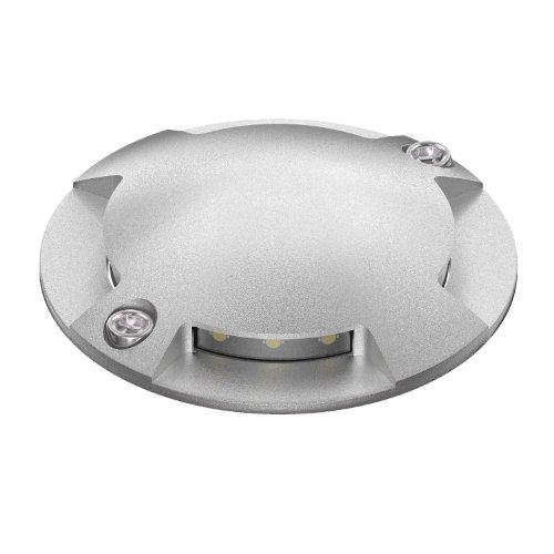 parlat LED Boden-Aufbau-Leuchte Bunda 4-Beam für außen, befahrbar, warm-weiß