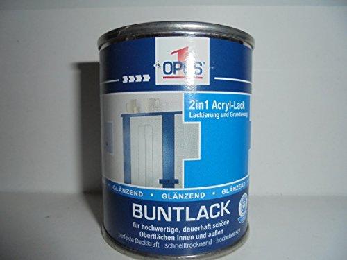 Opus 1 Buntlack 2in1 Acryl-Lack RAL 3004 Purpurrot Seidenmatt