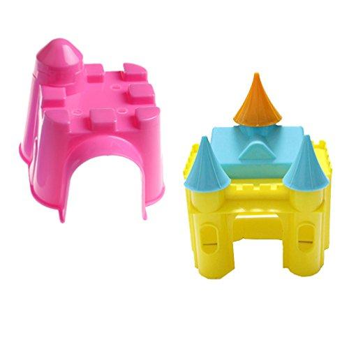 Emours piccolo animale carino plastica castello design
