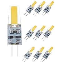NuLoXx LED Stiftsockellampe COB 2W 827 2700K 180lm warmweiß DC12V G4 360°
