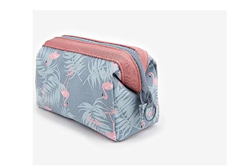 Aeoss ® New Women Portable Cute Multifunction Beauty Travel Cosmetic Bag Organizer Case Makeup Make up Wash Pouch Toiletry Bag (SkyBlue)