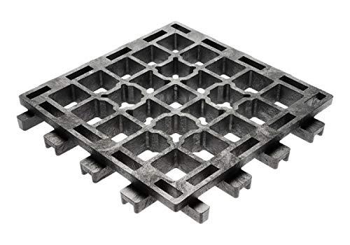 Land-Grid 25m² XT45 Paddockplatten ohne Unterbau Paddockplatte Rasengitterplatten 24€/m²