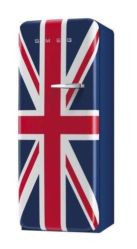 Smeg FAB28LUJ1 Standkühlschrank / A++ / 248 L / Mehrfarbig / mit integriertem Gefrierteil / Linksanschlag