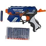 Aaryan Enterprise Foam Blaster Gun Toy - Safe And Long Range- 10 Bullets
