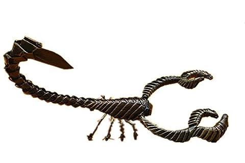 tissé à la main Animal Modèle faite à la main cadeaux Artisanat Naturel pur Feuille CE qui la rend, Scorpion