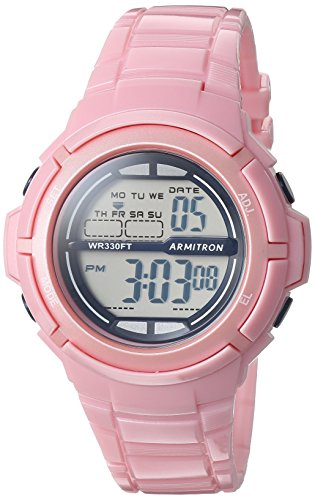 armitron-sport-womens-45-7045spk-digital-light-pink-sparkled-resin-strap-watch