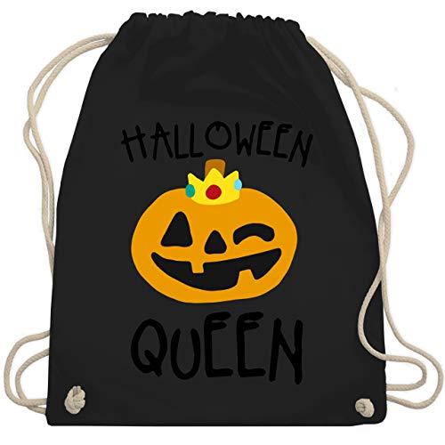 Winter Queen Kostüm - Halloween - Halloween Queen Kostüm - Unisize - Schwarz - WM110 - Turnbeutel & Gym Bag