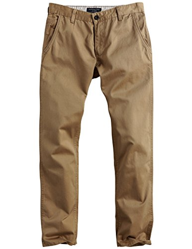 Match Herren Slim Straight Casual Hose #8036 8036 Khaki