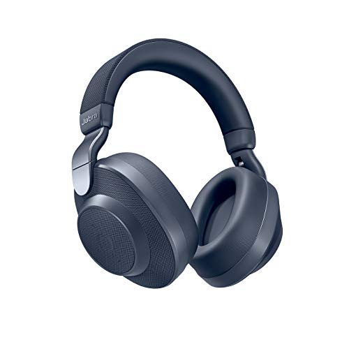 Jabra Elite 85h Casque Bluetooth 5.0 avec Réduction de Bruit Active et le Service Vocal Amazon Alexa Intégré - Bleu Navy