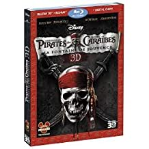 Pirates des Caraibes - La fontaine de Jouvence Bluray 3D
