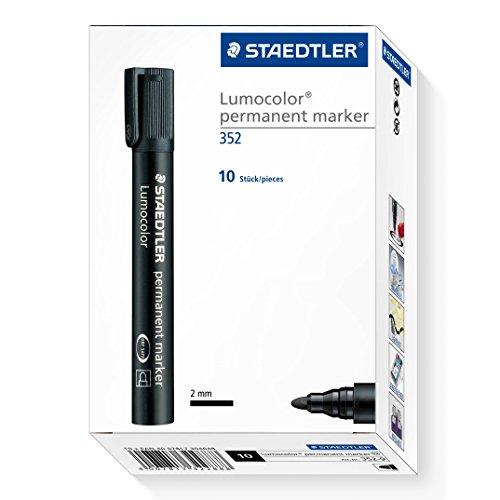 staedtler-lumocolor-permanent-marker-bullet-tip-black-pack-10