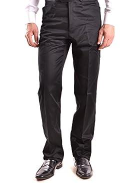 Gianfranco Ferré Hombre MCBI136016O Negro Algodon Pantalón