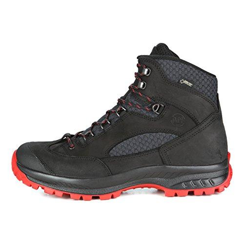 Hanwag Banks Ii Gtx, Chaussures de Randonnée Hautes Homme schwarz-black