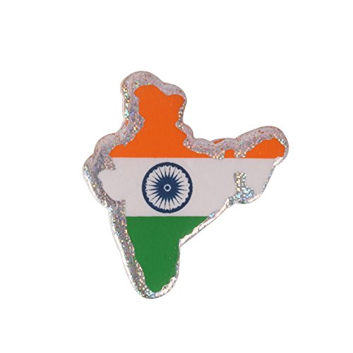 Dhwaj Indian Flag Coat Pin / Brooch / Badge for Clothing Accessories...