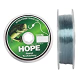 Hope Monofilament Less Visibility in Water Fishing Line 100mtr (0.60mm)