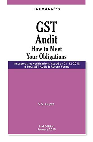 GST Audit-How to Meet your Obligations (2nd Edition January 2019) Descargar PDF Ahora