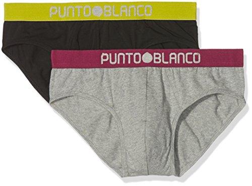 Punto Blanco Herren Unterkleid, 2er Pack Bunt