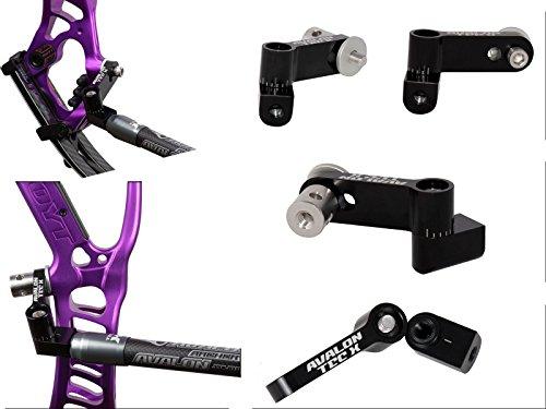 Preisvergleich Produktbild Avalon Bogenschießen Tec-X Mono Uni-Bar Mount V-Bar für Compound Bögen Schwarz