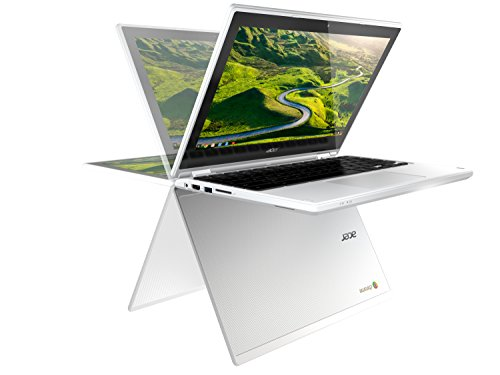 Acer Chromebook R 11 CB5-132T-C4LB 29,5 cm (11,6 Zoll HD IPS 360°) Convertible Notebook (Intel Celeron N3160, 4GB RAM, 32GB eMMC, Intel HD Graphics, Google Chrome OS) weiß - 2