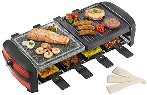 Bestron ARC800 Raclette / grill di pietra Per 8 persone