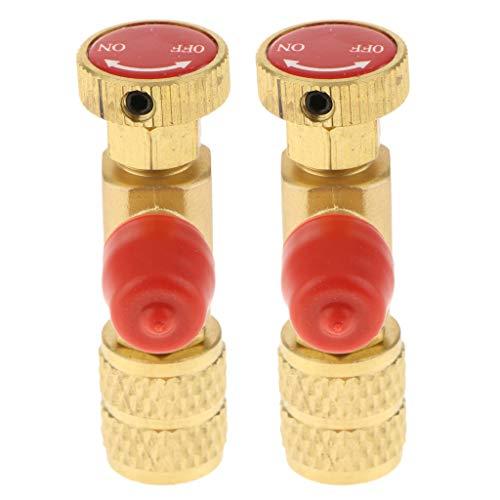 perfk 2x Professioneller Sicherheitsventil Gasventil Druckventil Druckregler für Industrie Geschäft und andere Bereichen -