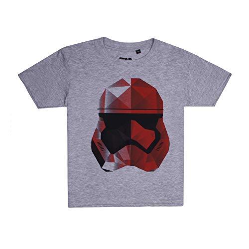 Star Wars Jungen Storm Geo Trooper T-Shirt, Grau (Grey Heather SPO), 11-12 Jahre (Star Trooper Wars-storm)
