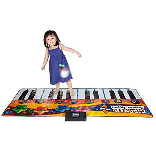 Aa-ss-music mat tastiera danza stuoie strumenti musicali bambini gigante elettronico pianoforte musica party games playmat educational toy instrument