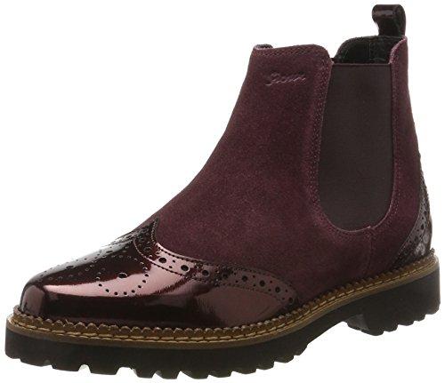 Sioux Damen Chelsea Boots Chelsea Boots Veselka, Rot (Magenta), 40 EU ( 6.5 UK)