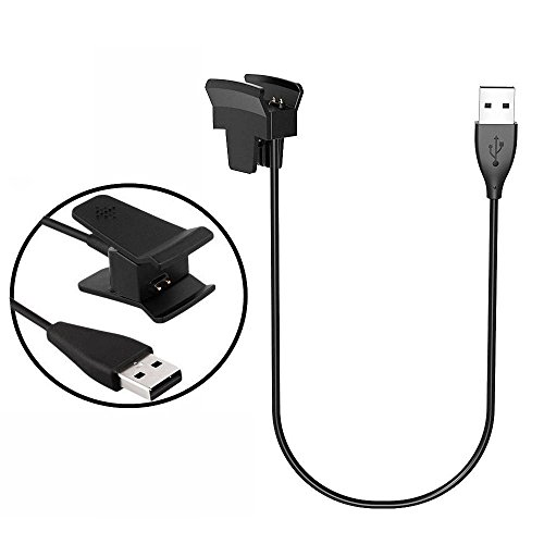 LeSB Fitbit Alta Charger, Fitbit Alta Charging Cable Replacement USB Charger Clip USB Charger Cord for...