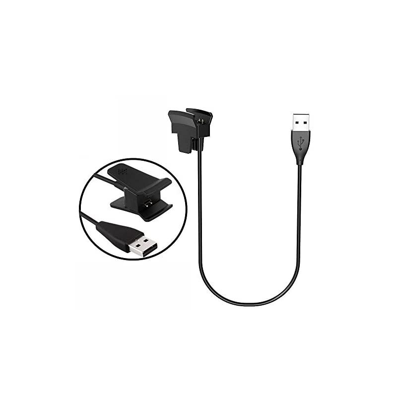 LeSB Fitbit Alta Charger, Fitbit Alta Charging Cable Replacement USB Charger Clip USB Charger Cord for Fitbit Alta Watch…