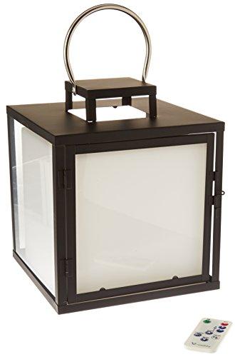 Lumisky HEAVY C23 Cube lumineux LED avec Télécommande Plastique/Métal, Intégré, 5 W, Multicolore, 23 x 23 x 27.50 cm