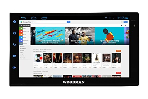 woodman wmlx22 double-din android stereo with gps and screen mirroring (black) Woodman WMLX22 Double-Din Android Stereo with GPS and Screen Mirroring (Black) 41YkEp758 L