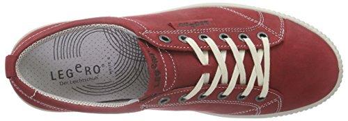 Legero - Tanaro, Scarpe da ginnastica Donna Rosso (Rot (RUBIN 70))