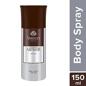 Yardley London Arthur Body Spray for Men, 150ml