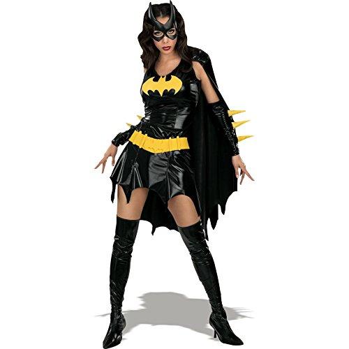 Imagen de rubbies  disfraz de halloween batgirl para mujer, talla s i 888440s