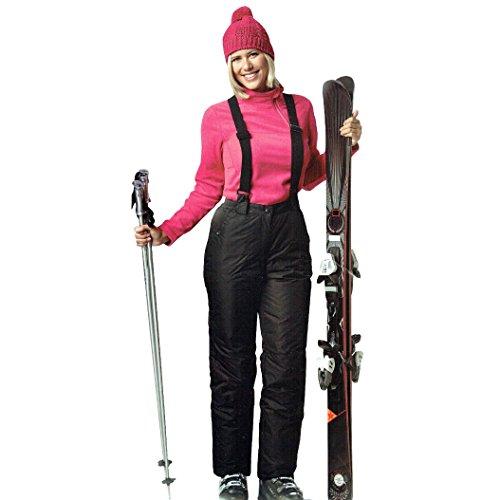 Damen Ski Snowboard Hose Snowboardhose wind und wasserdicht Winterhose Öko-Tex (M (40/42))