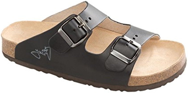 Gesundheits Pantoffeln Hausschuhe E2002/LUCCA schwarz Größe: 44