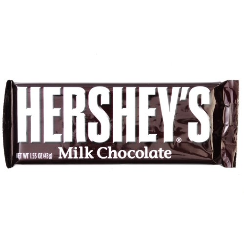Hersheys Milk Chocolate 43g Bar
