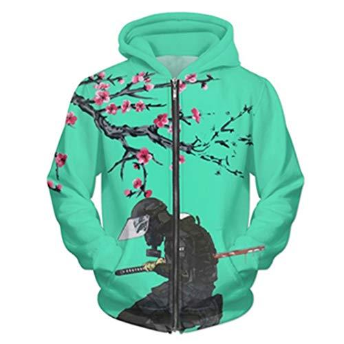 PALNTLSHEM 3D Hoodie Arizona Ice Tea Print ReißverschlussHoodie der Frauen Männer Crewneck Sweatshirt Color as The Picture XXL