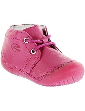 Richter Kinder Minis pink Glattleder Schnürer Mädchen-Schuhe 0621-831-3500 fuchsia Richie