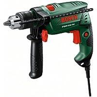 """Bosch Perceuse à percussion """"Easy"""" PSB 530 RE avec bague de friction et poignée supplémentaire 0603127005"""