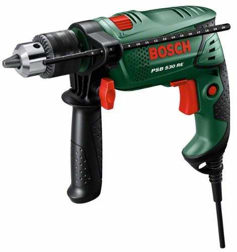 Bosch Home and Garden 0.603.127.005 Taladro de percusión, 530 W, 240 V