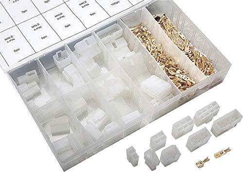 Flachstecker Gehäuse Set, 240-teilig, mit Flachstecker