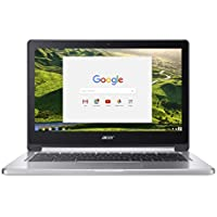 Acer Chromebook R13 CB5-312T - (MediaTek MT8173, 4GB RAM, 64GB eMMC, 13.3 inch HD Touchscreen Display, Google Chrome OS, Silver)