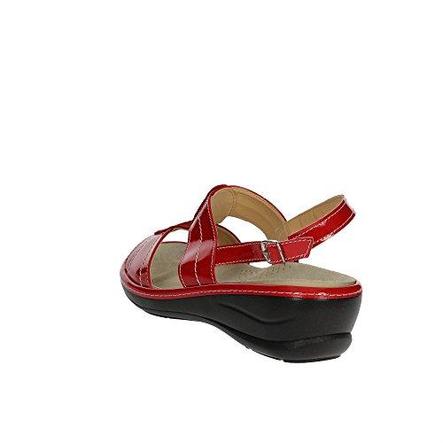 Cinzia Soft IO568P-V 002 Sandale Femme Rouge