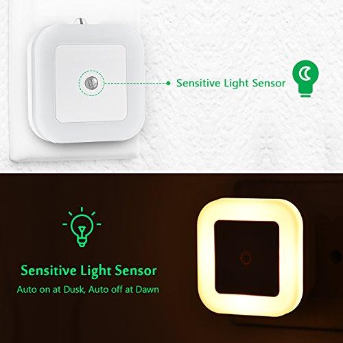 Zoom IMG-2 topop luce notturna sensore di