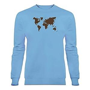 Shirtcity Sudadera Mapa del Mundo by