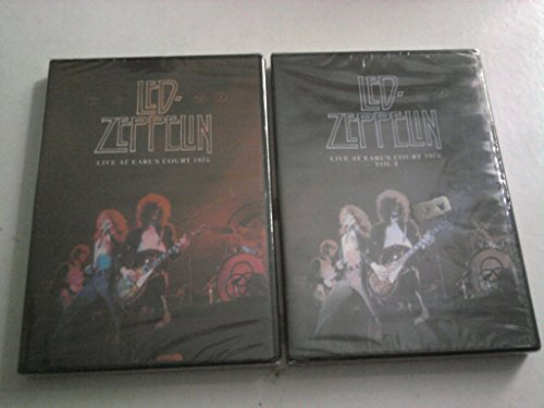 "Led Zeppelin ""Live At Earl's Court 24/05/1975"" (Vol.1+Vol.2) (2 Dvd Video)"
