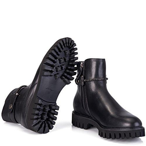 LOLA CRUZ, Stivali donna nero nero, nero (nero), 36
