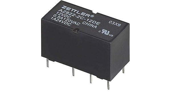Zettler Electronics AZ822-2C-3DE Printrelais 3 V//DC 2 A 2 Wechsler 1 St.